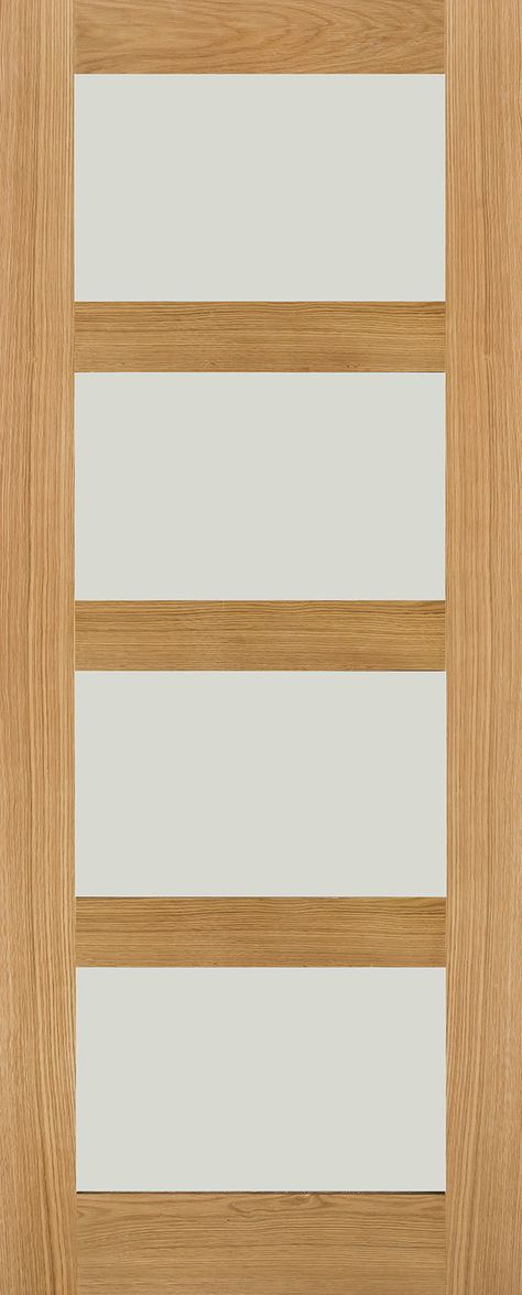 Rossin White Oak Frosted Glass