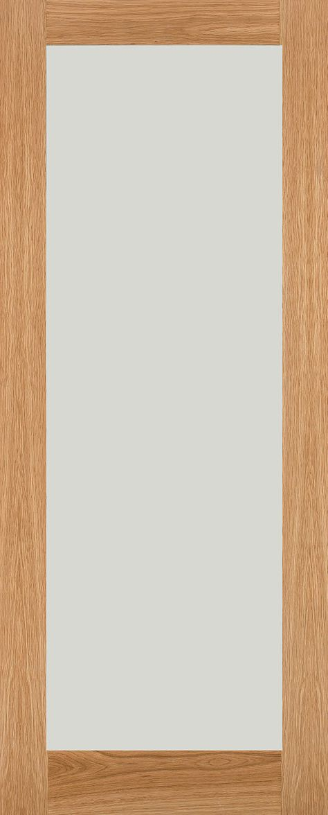 White Oak Shaker Frosted Glass