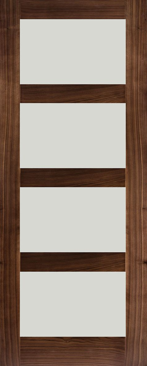 Rossin Walnut Frosted Glass